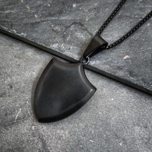 שרשרת מגן שחור