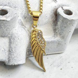 שרשרת כנף לגבר