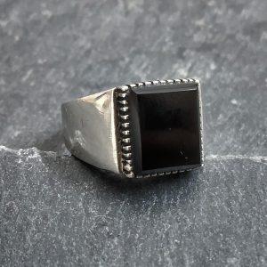 טבעת לגבר- שיק כסף