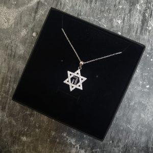 שרשרת מגן דוד חי לגבר - ארז תכשיטים