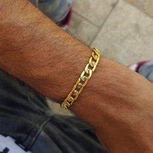 צמיד גורמט זהב לגבר