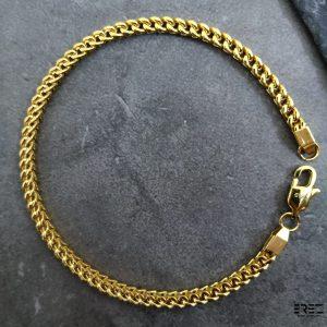 צמיד זהב לגבר