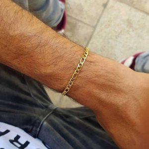 צמיד פיגרו זהב