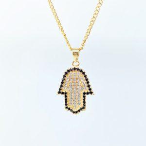 שרשרת חמסה גולדפילד - שרשראות לגבר - ארז תכשיטים