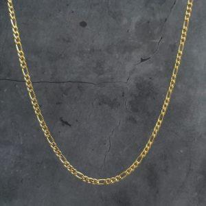 שרשרת גורמט לגבר – פיגרו זהב סופר דק