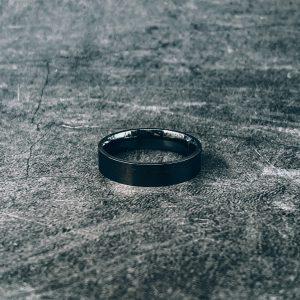 טבעת לגבר- קלין שחור