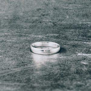 טבעת לגבר- קלין דק כסף