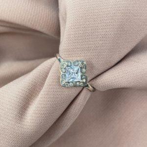 טבעת כסף - פרומה