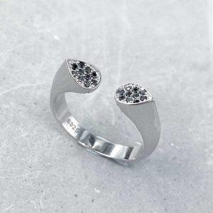 טבעת כסף - ולריה