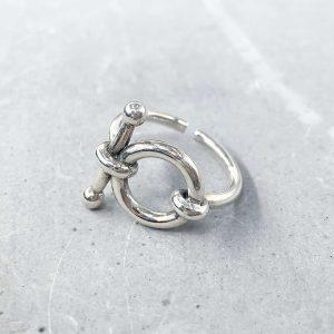 טבעת כסף - הינדל