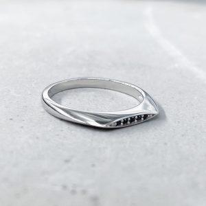 טבעת כסף - רייזל