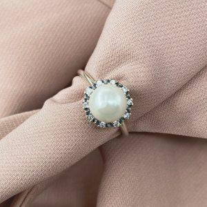 טבעת כסף - ניקה