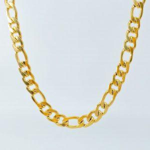 שרשרת לגבר -פיגרו עבה-זהב
