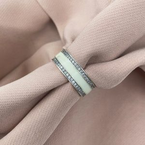 טבעת כסף - היילי