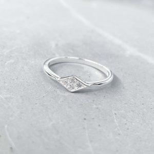 טבעת כסף - גיטי