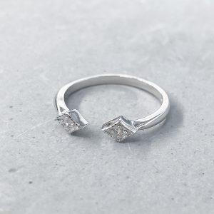 טבעת כסף - מלאני